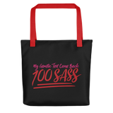 My Genetic Tests Came Back 100 SASS (Tote Bag)