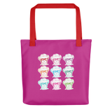 Sammi Haney (Esperanza - Raising Dion) 9 Faces Tote Bag