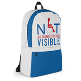 Not All Disabilities are Visible (Backpack)