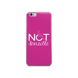 iPhone case invisible disability special needs awareness diversity wheelchair inclusion inclusivity acceptance