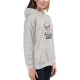 Always be Sassy (Esperanza - Raising Dion) Kid's Hoodie