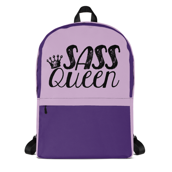 backpack school Sass Queen Fan Sammi Haney Esperanza Netflix Raising Dion sassy wheelchair pink glasses disability osteogenesis imperfecta