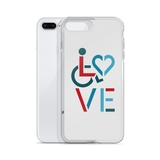 LOVE (for the Special Needs Community) iPhone Case Stacked Design 3 of 3