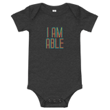 I am Able (Baby Onesie)