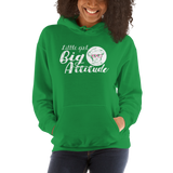 Little Girl Big Attitude (Esperanza - Raising Dion) Hoodie Unisex Dark Colors
