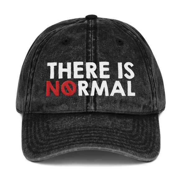 cap hat there is no normal myth peer pressure popularity disability special needs awareness diversity inclusion inclusivity acceptance activism