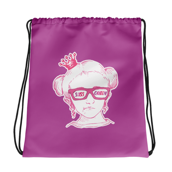 tote bag Sass Queen Fan Sammi Haney Esperanza Netflix Raising Dion sassy wheelchair pink glasses disability osteogenesis imperfecta