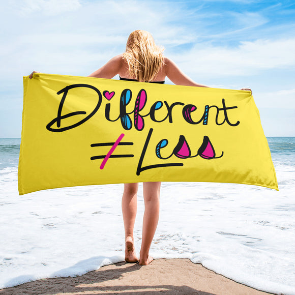 Beach Towel Netflix's Raising Dion Esperanza Sammi Haney Different Does Not Equal Less T-Shirt