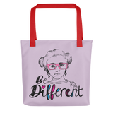 Be Different (Esperanza - Raising Dion) Pink Tote Bag