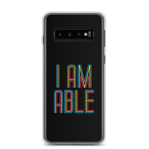 Samsung case I am Able abled ability abilities differently abled differently-abled able-bodied disabilities people disability disabled wheelchair