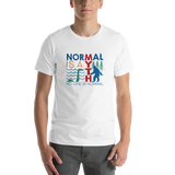 Normal is a Myth (Bigfoot & Loch Ness Monster) Unisex Shirt