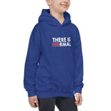 There is No Normal (Text Only Design Kid's Hoodie)