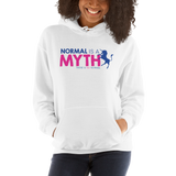 Hoodie normal is a myth unicorn peer pressure popularity disability special needs awareness inclusivity acceptance activism