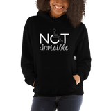 Not Invisible (Women's Hoodie Dark Colors)
