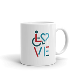 LOVE (for the Special Needs Community) Mug Stacked Design 3 of 3