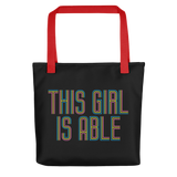 This Girl is Able (Tote Bag)