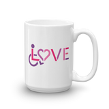 LOVE (for the Special Needs Community) Mug