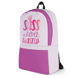 Sass is Never Wasted (Backpack)
