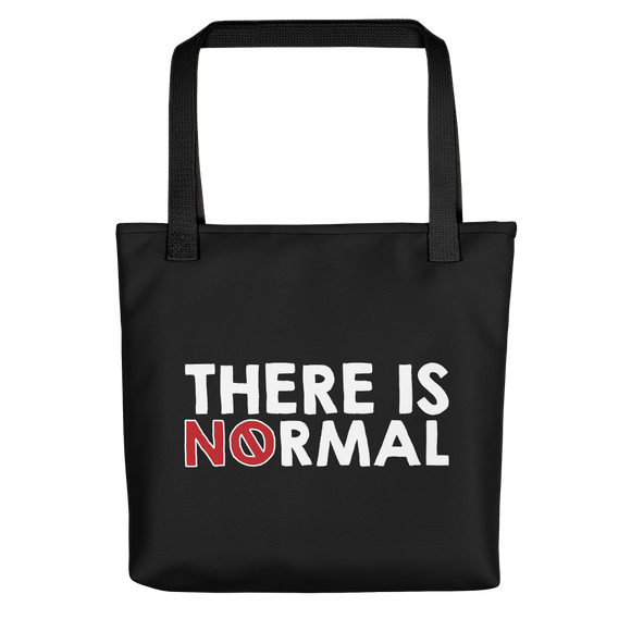 tote bag there is no normal myth peer pressure popularity disability special needs awareness diversity inclusion inclusivity acceptance activism