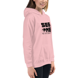 See Me Not My Disability (Halftone) Kid's Hoodie