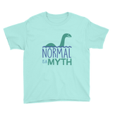 Normal is a Myth (Loch Ness Monster) Youth Shirt