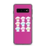 Samsung case 9 Different Colored Faces of Sammi Haney Esperanza Netflix Raising Dion fan sassy wheelchair pink glasses disability osteogenesis imperfecta OI