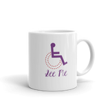 See Me (Not My Disability) Women's Mug