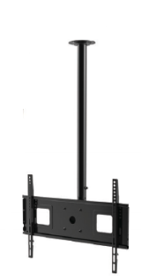 Mount for Ceiling hung installation of  Outdoor TV's and Outdoor TV Enclosures up to 65