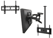 Load image into Gallery viewer, Mounting bracket options for your outdoor TV cabinet