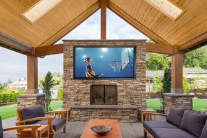 Outdoor TV cabinet in your outdoor entertainment area