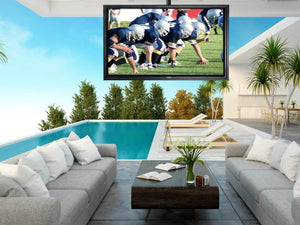 "APOLLO OUTDOOR TV ENCLOSURE - fits most TV's 60"" - 65"""