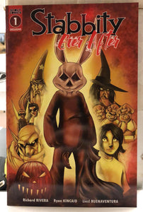 Stabbity Ever After #1 Ryan Kincaid Trick R Treat Homage GFC Exclusive
