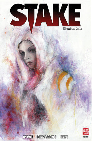 Stake #1 Women of Comics Exclusive Cover Collection - Zu Orzu
