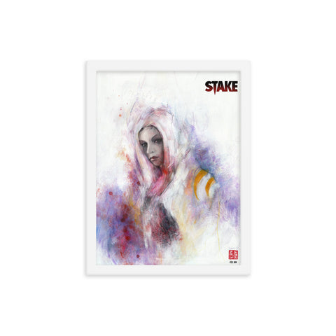 Stake #1 - Jessamy by Zu Orzu - Framed poster