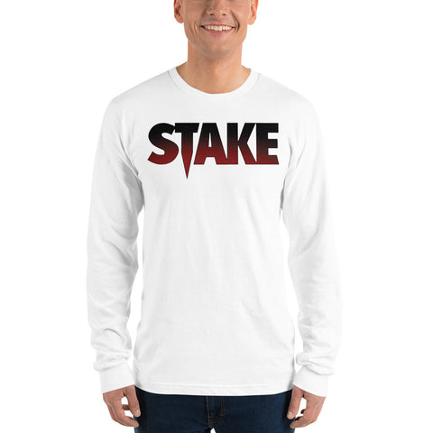 Stake Logo - Long Sleeve t-shirt