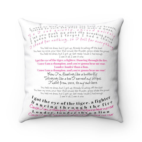Accent Pillow-Personalized Quotes