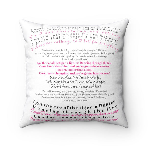 Accent Pillow-Personalized Quotes - BeTheLightCo