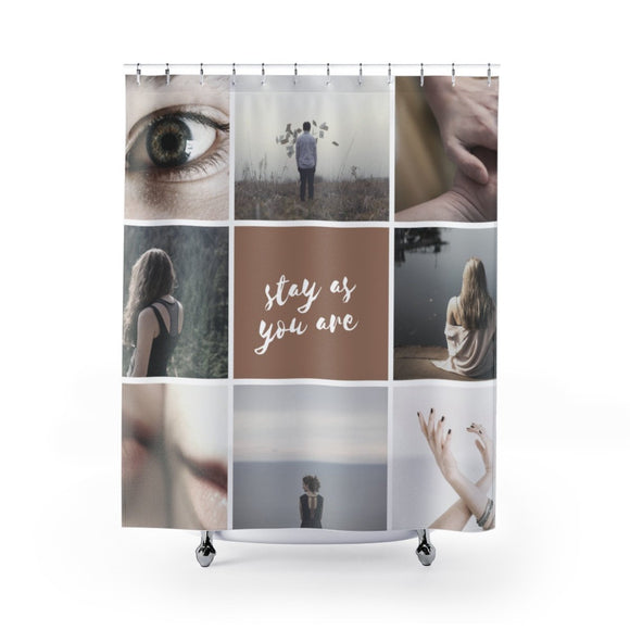 Shower Curtain- Photo Collage Custom - BeTheLightCo