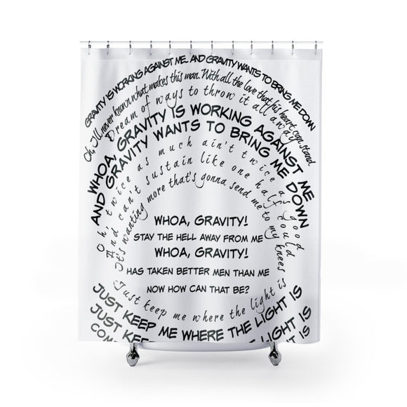 Shower Curtain- Classic Cylinder Lyrics - BeTheLightCo