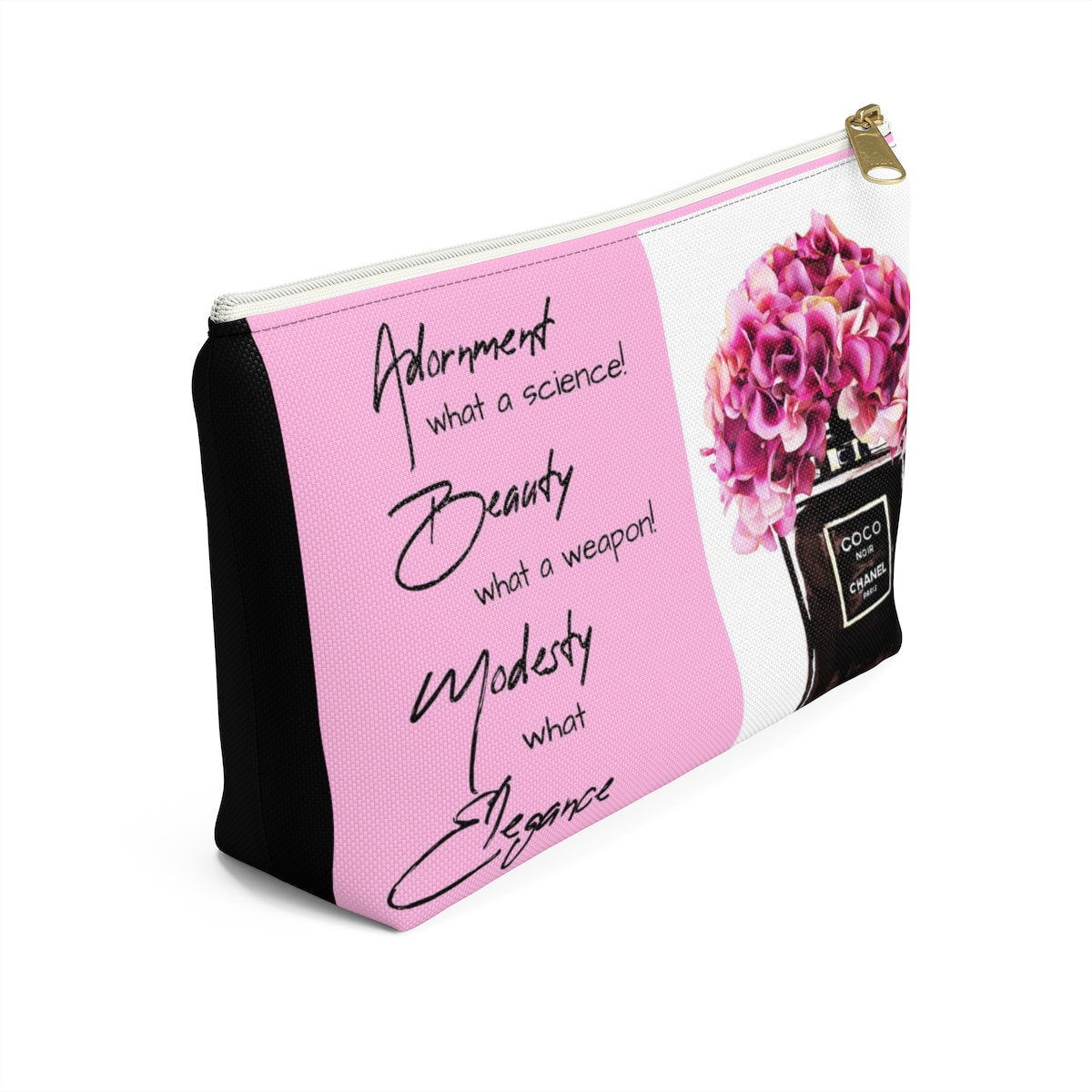Pink Make Up Clutch Bag
