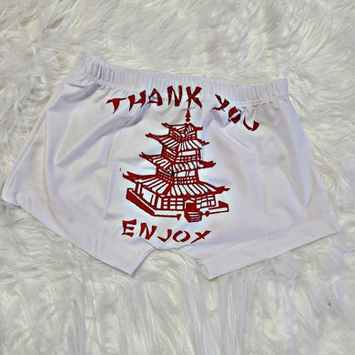 Thank You Enjoy Snack Shorts