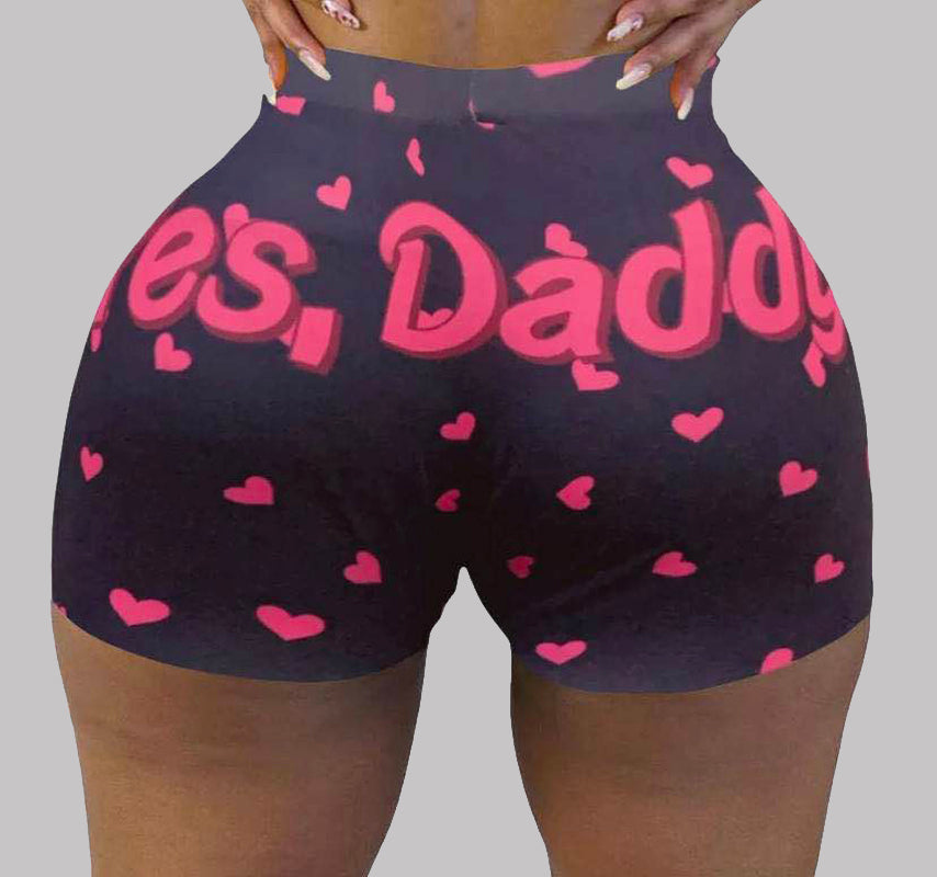 Yes Daddy Snack Shorts