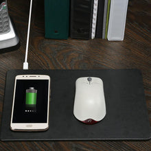 Load image into Gallery viewer, Qi Wireless Charging Mousepad
