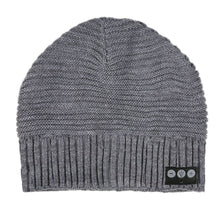Load image into Gallery viewer, Horizontal Knit Bluetooth Beanie