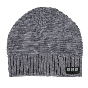 Horizontal Knit Bluetooth Beanie