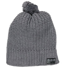 Load image into Gallery viewer, Bluetooth Beanie W/Pom
