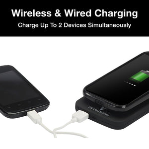 Qi Wireless Charging Power Bank - 8,000mAh