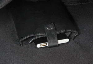 The Alley Messenger Bag with 10,000mAh Power Bank  Built-in
