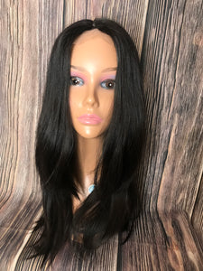 "24"" Dahlia Lace Front Wig Layered in Medium"