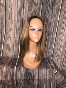 "19"" Dahlia Full Wig Precut Wig Layered in Medium"